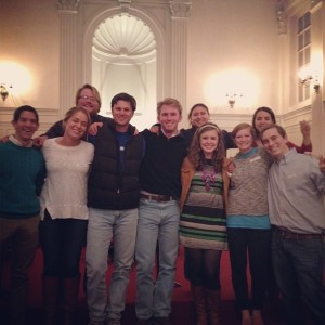 My last RUF with my people (the seniors and Kelly our intern).