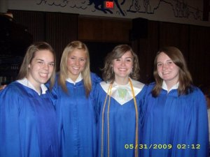 High School Graduation with the Lunch Bunch